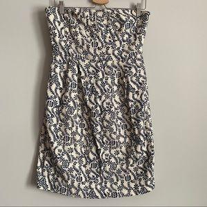 J Crew - Embroidered Dress